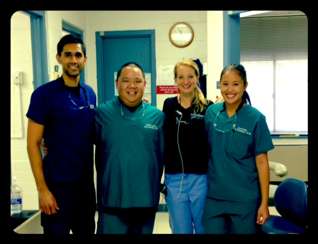 Local outreach with VCU students at the Charlottesville Free Clinic